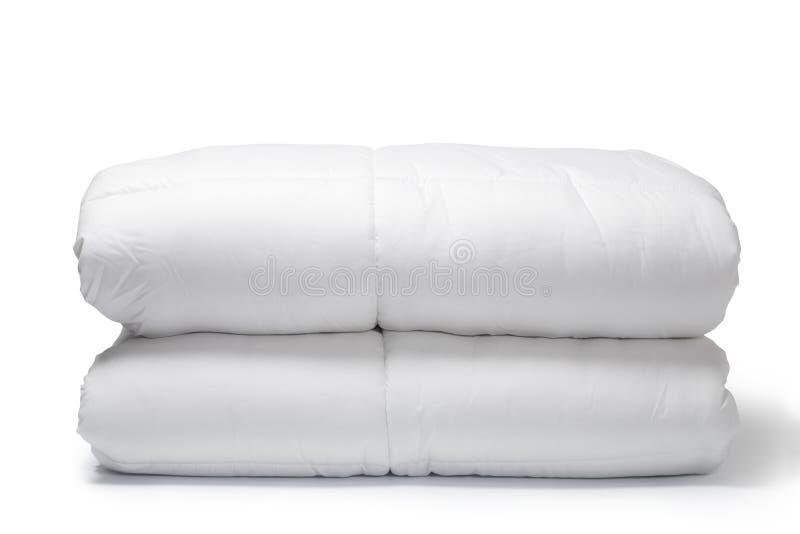λευκό παπλωμάτων στοκ εικόνες με δικαίωμα ελεύθερης χρήσης