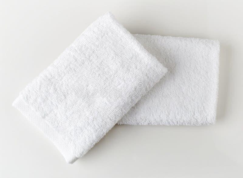 λευκό πετσετών SPA στοκ φωτογραφία με δικαίωμα ελεύθερης χρήσης
