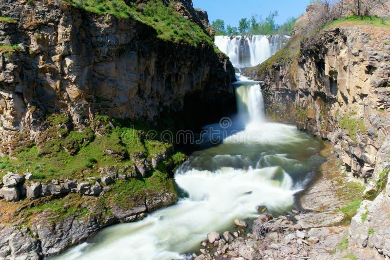 λευκό ποταμών πτώσεων στοκ φωτογραφίες με δικαίωμα ελεύθερης χρήσης