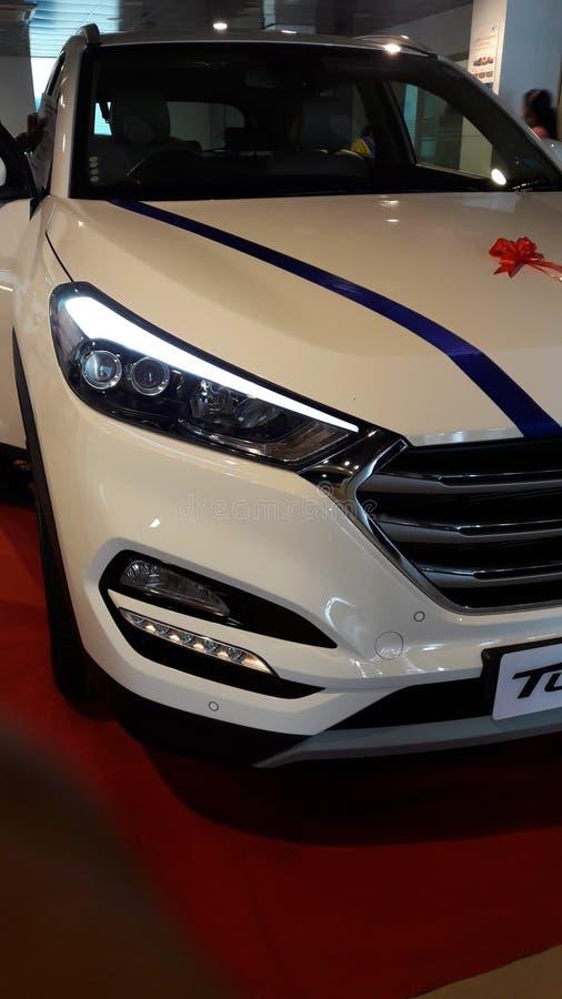λευκό φωτογραφίας αυτοκινήτων στοκ φωτογραφία με δικαίωμα ελεύθερης χρήσης