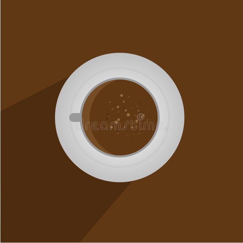 λευκό φλυτζανιών καφέ στοκ φωτογραφία με δικαίωμα ελεύθερης χρήσης