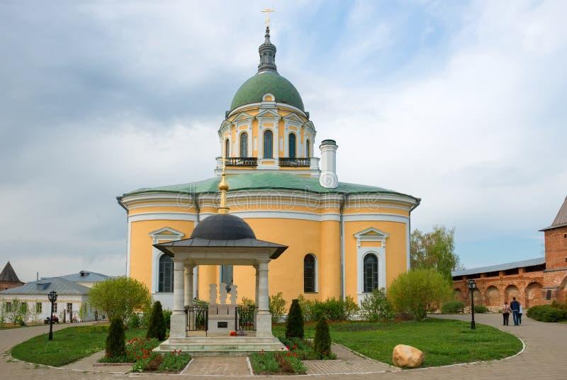 Ευλογημένος μνημείο-ταφόπετρα πρίγκηπας Fyodor του Ryazan, η σύζυγός του Eupraxia και γιος John στοκ εικόνες με δικαίωμα ελεύθερης χρήσης