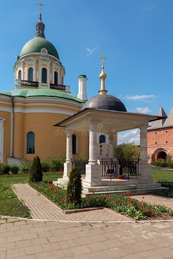 Ευλογημένος μνημείο-ταφόπετρα πρίγκηπας Fyodor του Ryazan στοκ εικόνα