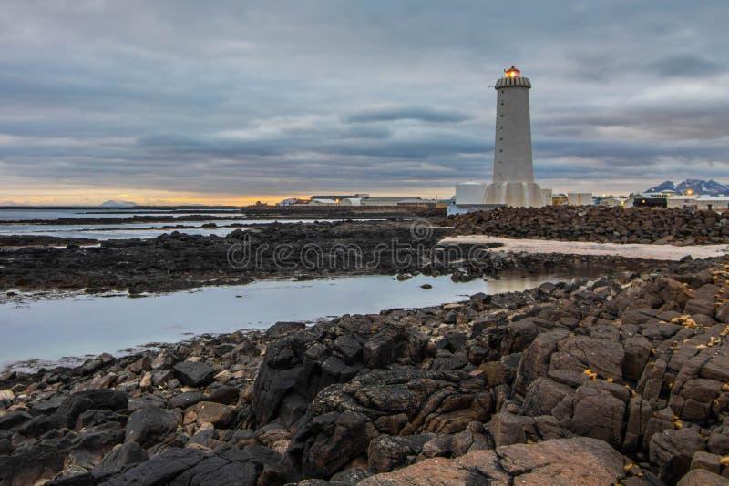 Ευμετάβλητος καταρράκτης Skogafoss στην Ισλανδία στοκ εικόνες με δικαίωμα ελεύθερης χρήσης