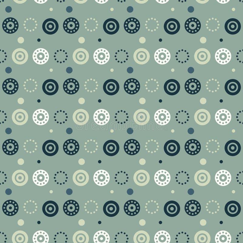 Ευμετάβλητο άνευ ραφής σχέδιο ταπετσαριών PA διανυσματική απεικόνιση