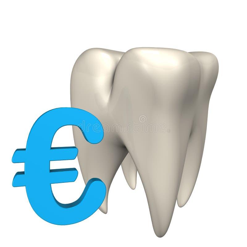 Ευρο- δόντι απεικόνιση αποθεμάτων