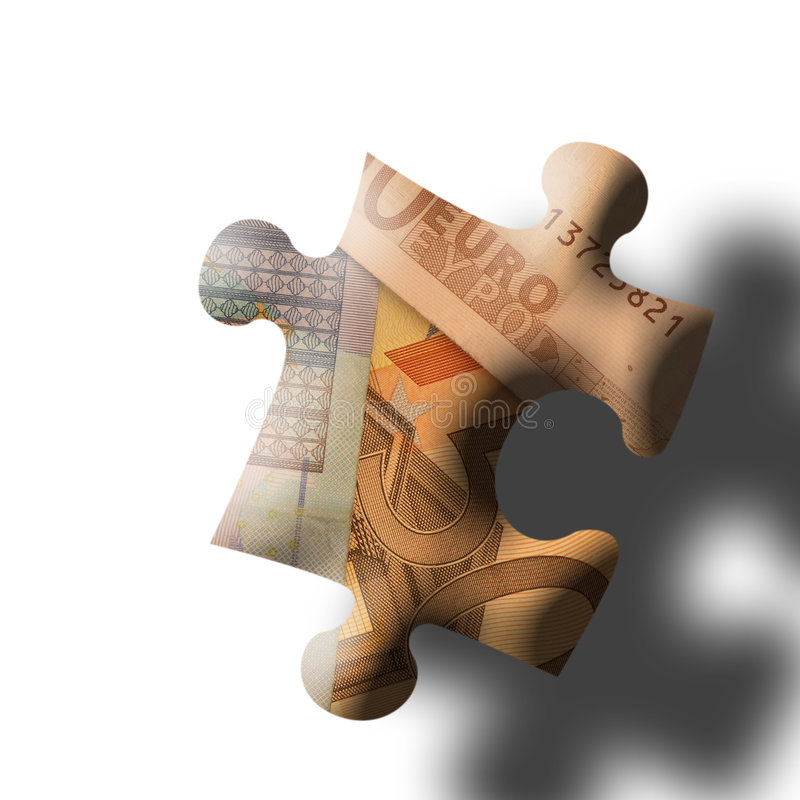 Download ευρο- κομμάτι τορνευτικ απεικόνιση αποθεμάτων. εικόνα από χρήματα - 123914