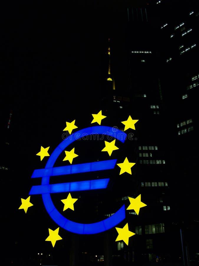 Ευρο- λογότυπο στοκ φωτογραφίες με δικαίωμα ελεύθερης χρήσης