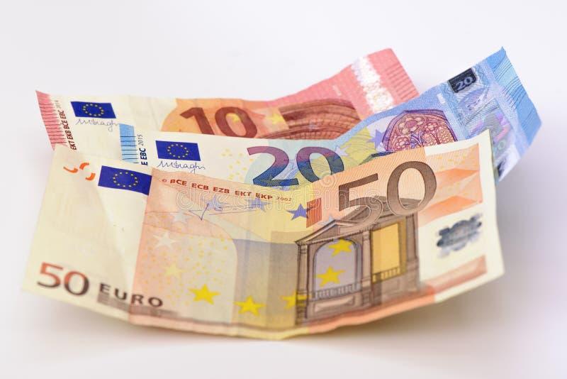Ευρο- νόμισμα μετρητών στοκ εικόνα