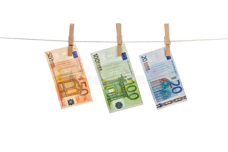Ευρο- ξέπλυμα χρημάτων στοκ φωτογραφίες με δικαίωμα ελεύθερης χρήσης