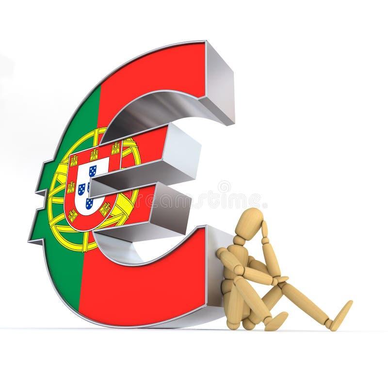 ευρο- πορτογαλική συν&epsilo ελεύθερη απεικόνιση δικαιώματος