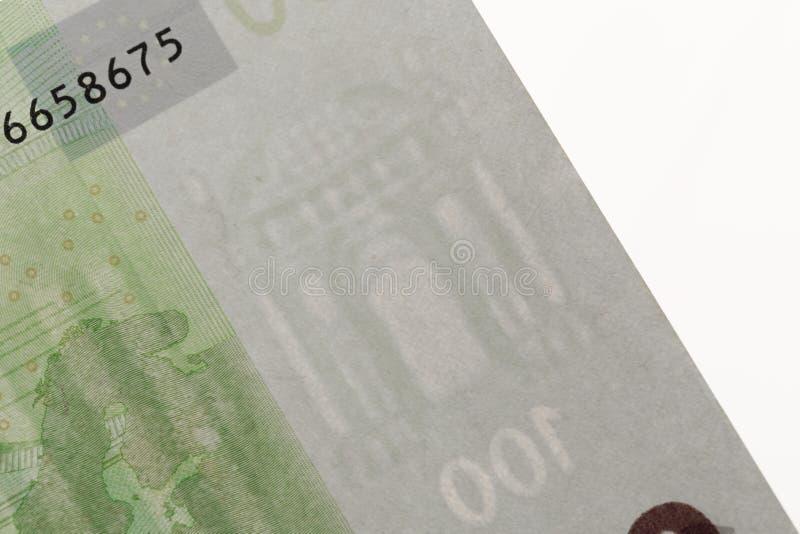 100 ευρο- σημειώσεις - εικόνα στοκ φωτογραφία με δικαίωμα ελεύθερης χρήσης