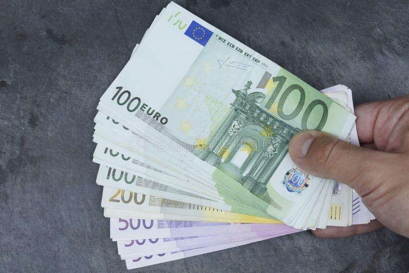 Ευρο- τραπεζογραμμάτιο στοκ εικόνες με δικαίωμα ελεύθερης χρήσης