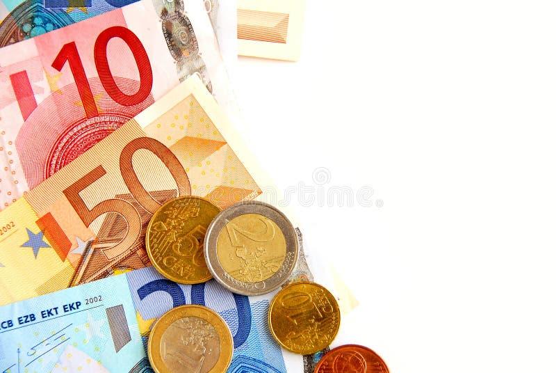 ευρο- χρήματα στοκ εικόνες