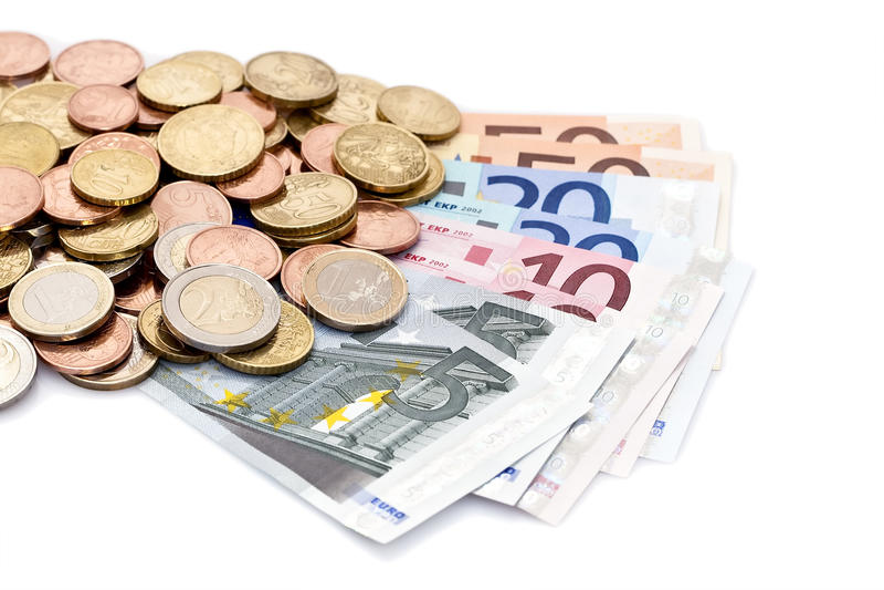 Download Ευρωπαϊκά χρήματα στοκ εικόνες. εικόνα από ανάχωμα, αποταμίευση - 13182842