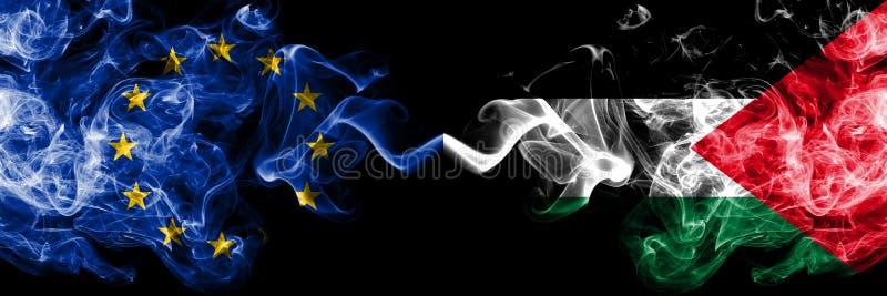 Ευρωπαϊκή Ένωση εναντίον της Παλαιστίνης, παλαιστινιακές σημαίες καπ απεικόνιση αποθεμάτων