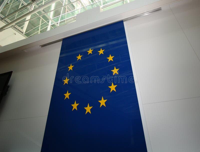 ευρωπαϊκή ένωση σημαιών στοκ εικόνες
