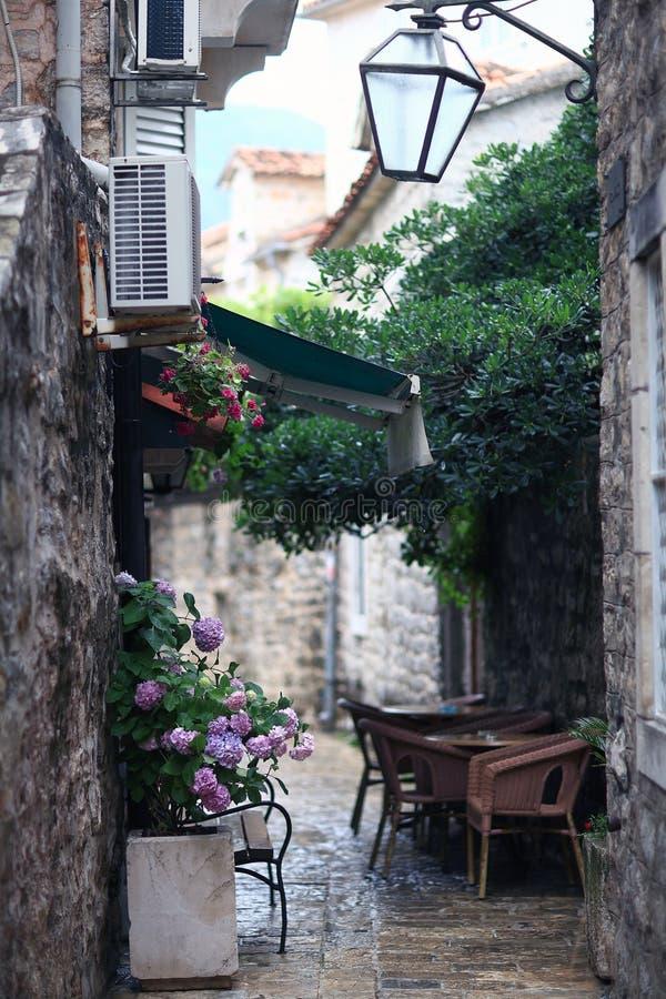 ευρωπαϊκή παλαιά οδός στοκ φωτογραφία