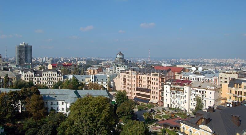 Ευρωπαϊκή πόλη Κίεβο στοκ εικόνες με δικαίωμα ελεύθερης χρήσης
