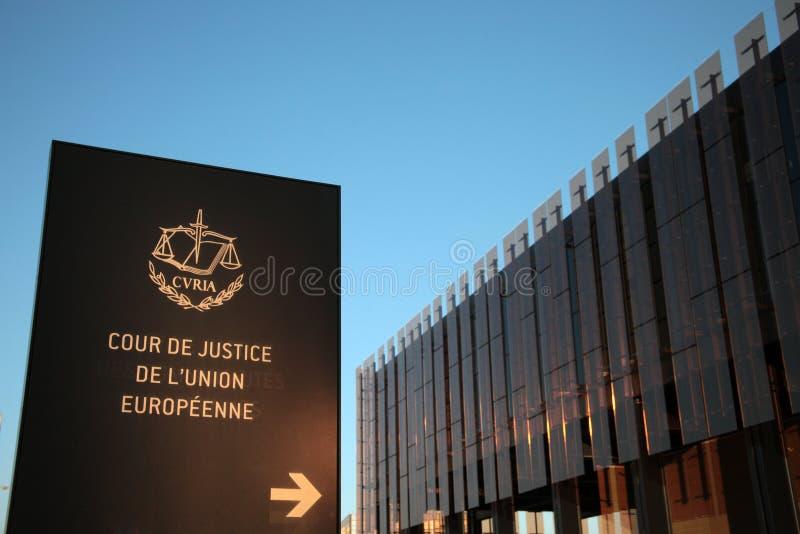 Ευρωπαϊκό Δικαστήριο στοκ φωτογραφία με δικαίωμα ελεύθερης χρήσης