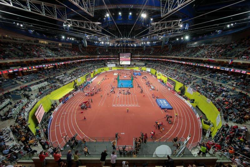 Ευρωπαϊκό εσωτερικό πρωτάθλημα 2015 αθλητισμού στοκ φωτογραφία με δικαίωμα ελεύθερης χρήσης