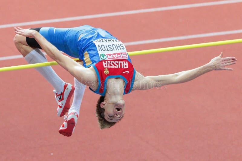 Ευρωπαϊκό εσωτερικό πρωτάθλημα 2015 αθλητισμού στοκ φωτογραφίες με δικαίωμα ελεύθερης χρήσης