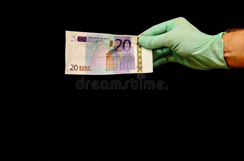 Ευρωπαϊκό ευρο- τραπεζογραμμάτιο χρημάτων στοκ εικόνα με δικαίωμα ελεύθερης χρήσης
