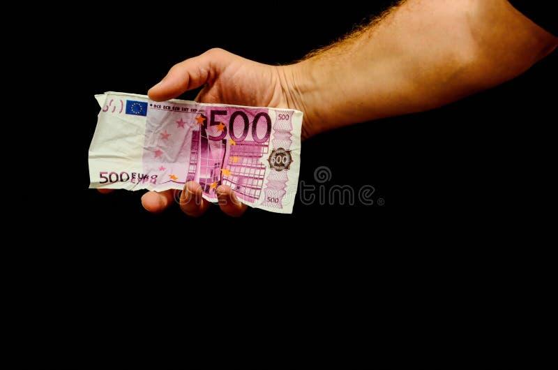 Ευρωπαϊκό ευρο- τραπεζογραμμάτιο χρημάτων στοκ εικόνες