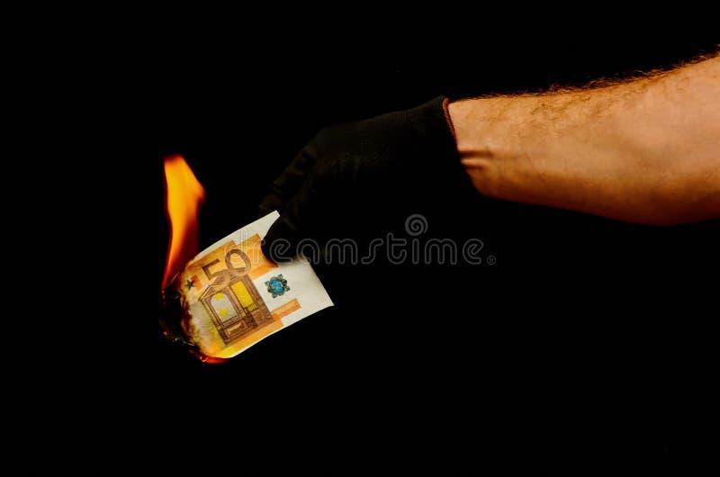 Ευρωπαϊκό ευρο- τραπεζογραμμάτιο χρημάτων στοκ φωτογραφίες με δικαίωμα ελεύθερης χρήσης