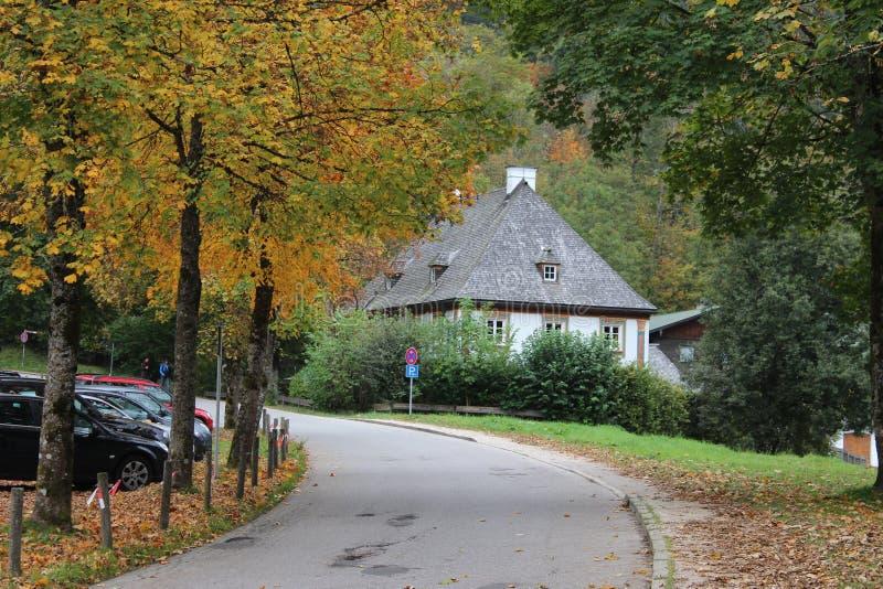 ευρωπαϊκό χωριό στοκ εικόνες