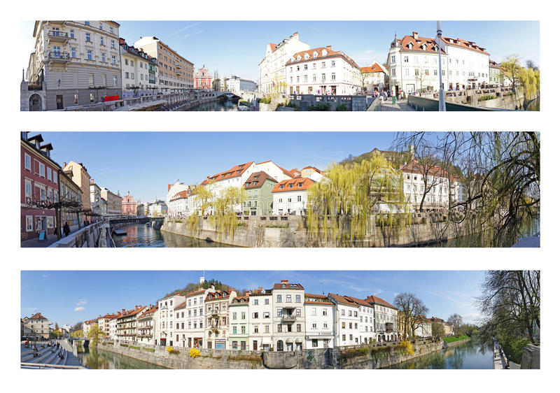 Ευρώπη Λουμπλιάνα Σλοβ&epsi στοκ εικόνες