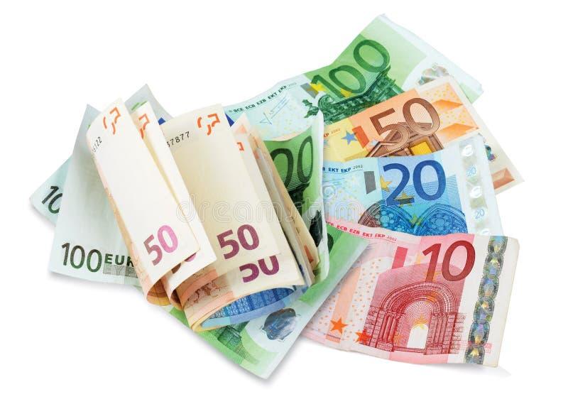 Download ευρώ λογαριασμών στοκ εικόνα. εικόνα από closeup, ευρώπη - 22798175