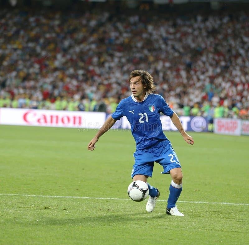 ΕΥΡΏ 2012 προημιτελικό παιχνίδι Αγγλία β UEFA Ιταλία στοκ φωτογραφίες