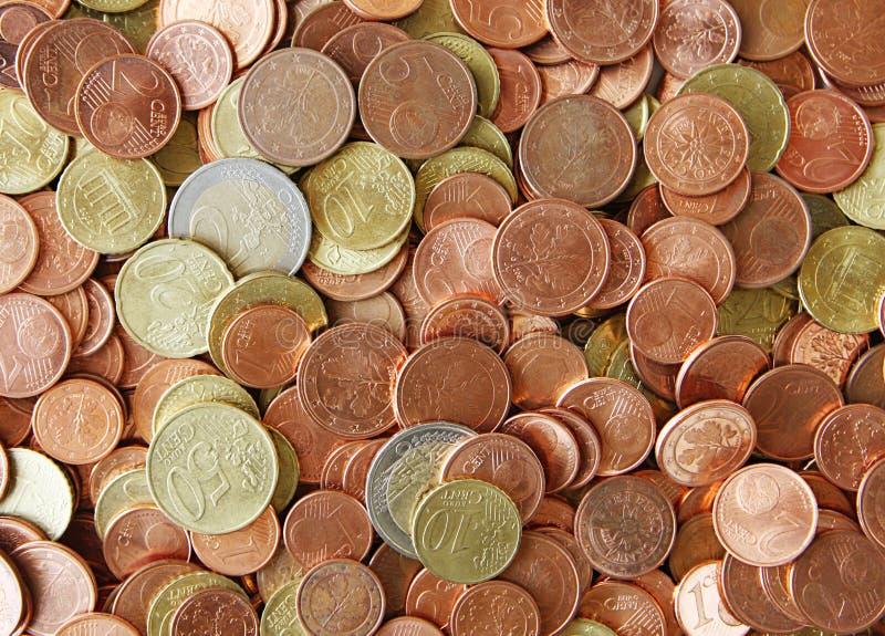 ευρώ σεντ στοκ φωτογραφία με δικαίωμα ελεύθερης χρήσης