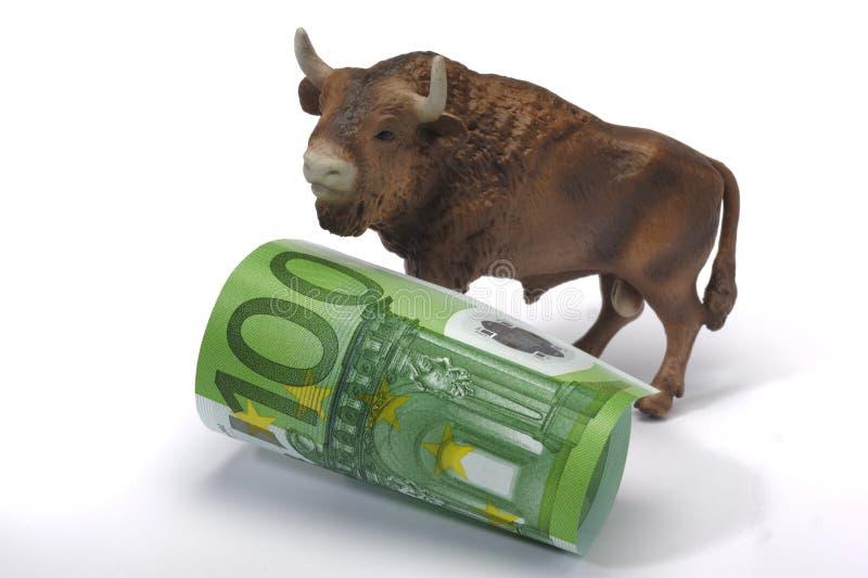 ευρώ ταύρων στοκ εικόνες με δικαίωμα ελεύθερης χρήσης