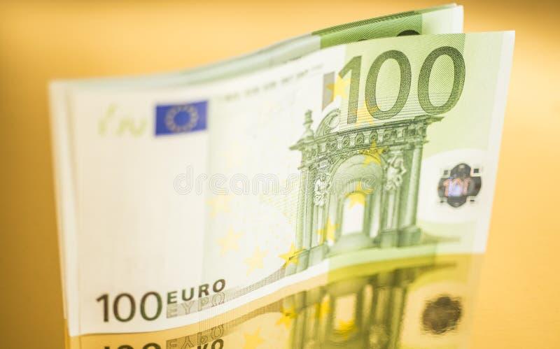 100 ευρώ στοκ εικόνα με δικαίωμα ελεύθερης χρήσης