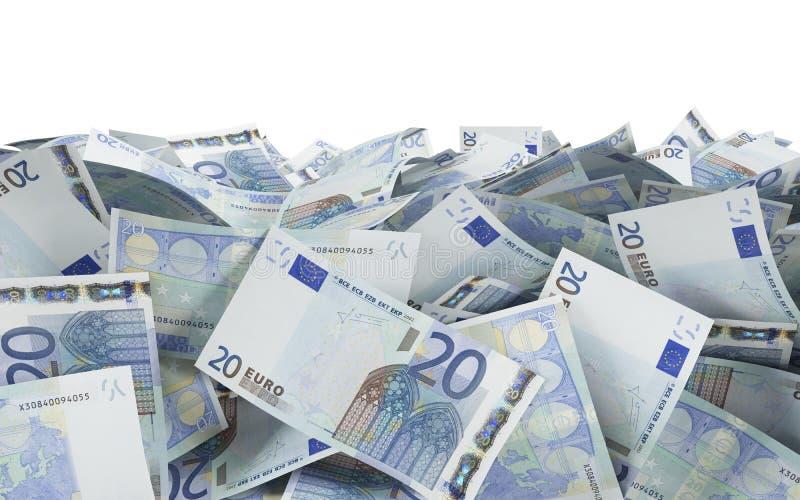 20 ευρώ στοκ φωτογραφία με δικαίωμα ελεύθερης χρήσης
