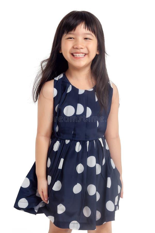 Ευτυχές γέλιο μικρών κοριτσιών στοκ φωτογραφίες με δικαίωμα ελεύθερης χρήσης