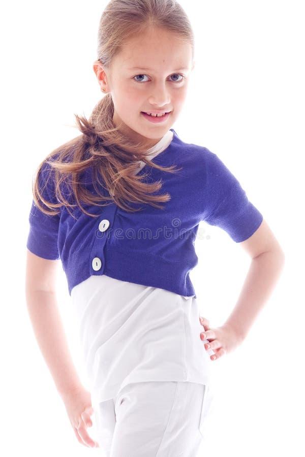 ευτυχές γλυκό κοριτσιών στοκ φωτογραφία με δικαίωμα ελεύθερης χρήσης