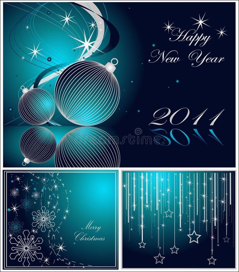 Download ευτυχές εύθυμο νέο έτος &Chi Διανυσματική απεικόνιση - εικονογραφία από κύκλος, χαιρετισμός: 17052417
