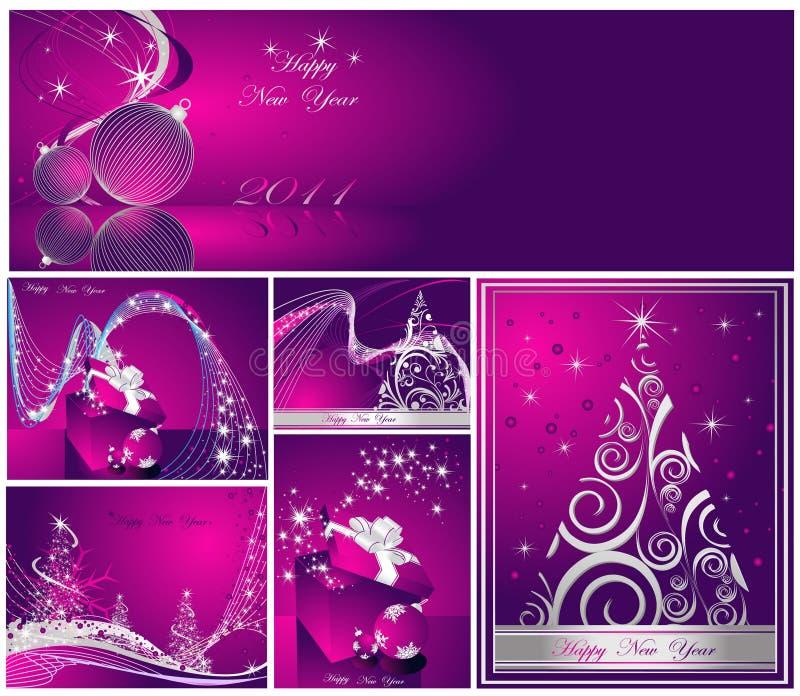 Download ευτυχές εύθυμο νέο έτος &Chi Διανυσματική απεικόνιση - εικονογραφία από συλλογή, κλίση: 17052877