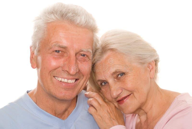 Ευτυχές ηλικιωμένο ζεύγος από κοινού στοκ φωτογραφία με δικαίωμα ελεύθερης χρήσης