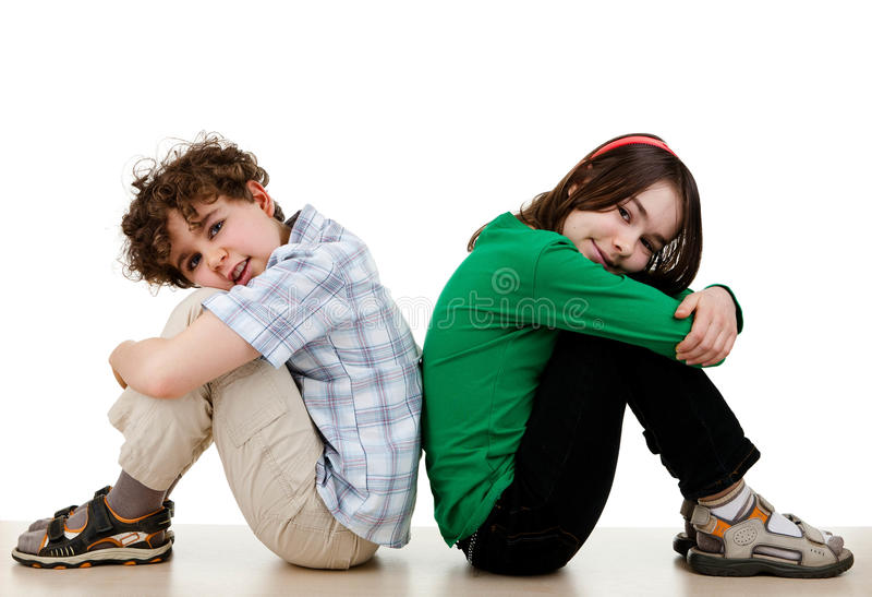 Ευτυχές κάθισμα παιδιών στοκ εικόνες με δικαίωμα ελεύθερης χρήσης