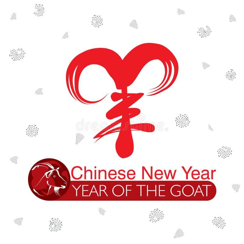 Ευτυχές κινεζικό νέο έτος, 2015 ελεύθερη απεικόνιση δικαιώματος