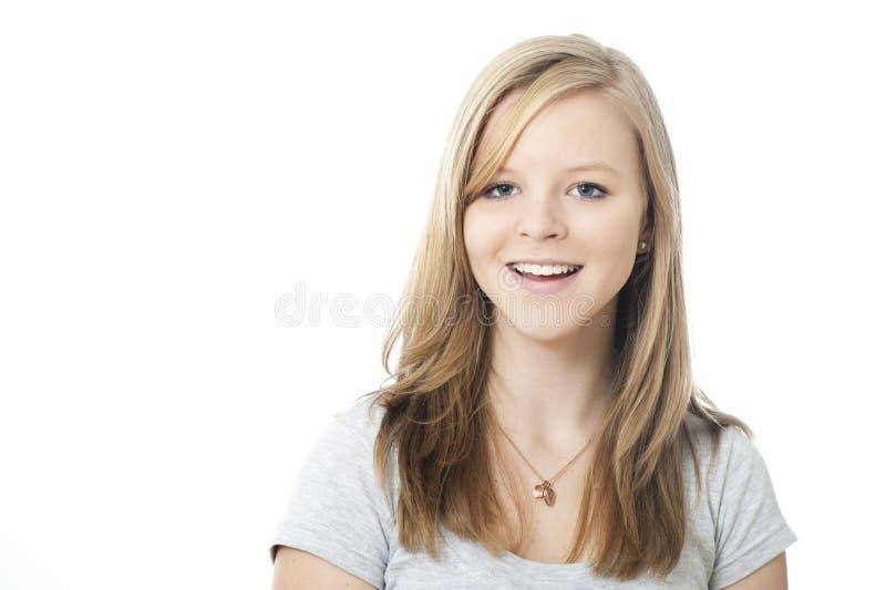 Ευτυχές κορίτσι στοκ φωτογραφίες