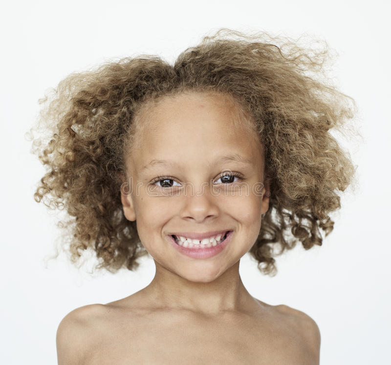 Ευτυχές πορτρέτο χαμόγελου παιδάκι στοκ φωτογραφίες με δικαίωμα ελεύθερης χρήσης