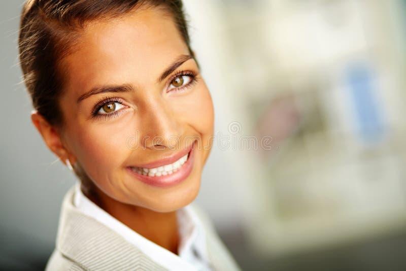 Ευτυχές πρόσωπο στοκ εικόνα με δικαίωμα ελεύθερης χρήσης