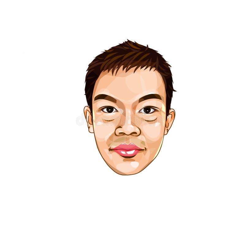 Ευτυχές πρόσωπο Smiley Emoticon στοκ φωτογραφίες με δικαίωμα ελεύθερης χρήσης