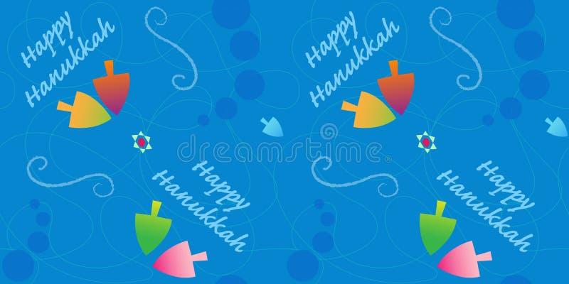 Ευτυχές σχέδιο Hanukkah απεικόνιση αποθεμάτων