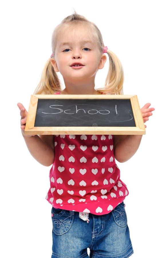 ευτυχές σχολείο κοριτ&s στοκ φωτογραφία με δικαίωμα ελεύθερης χρήσης